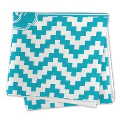 Pixelated Chevron Microfiber Dish Rag (Personalized)