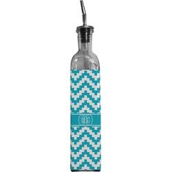 Pixelated Chevron Oil Dispenser Bottle (Personalized)