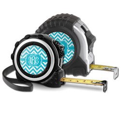 Pixelated Chevron Tape Measure (Personalized)
