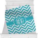 Pixelated Chevron Blanket (Personalized)