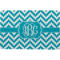 "Pixelated Chevron Comfort Mat - 24""x36"" (Personalized)"