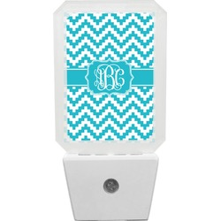 Pixelated Chevron Night Light (Personalized)