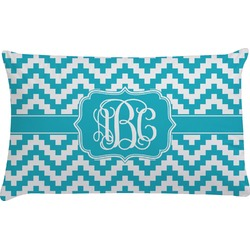 Pixelated Chevron Pillow Case (Personalized)