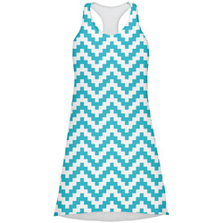 Pixelated Chevron Racerback Dress (Personalized)