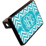 """Pixelated Chevron Rectangular Trailer Hitch Cover - 2"""" (Personalized)"""