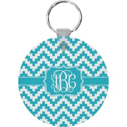 Pixelated Chevron Keychains - FRP (Personalized)