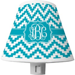 Pixelated Chevron Shade Night Light (Personalized)