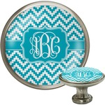 Pixelated Chevron Cabinet Knobs (Personalized)