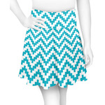 Pixelated Chevron Skater Skirt (Personalized)
