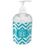 Pixelated Chevron Soap / Lotion Dispenser (Personalized)