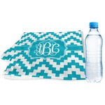 Pixelated Chevron Sports & Fitness Towel (Personalized)