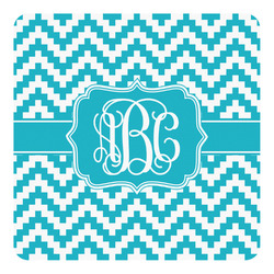 Pixelated Chevron Square Decal - Custom Size (Personalized)