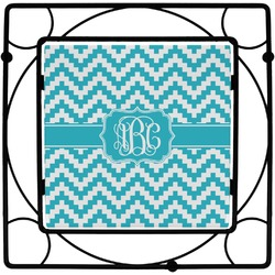 Pixelated Chevron Trivet (Personalized)