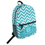 Pixelated Chevron Student Backpack (Personalized)