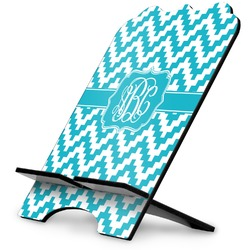 Pixelated Chevron Stylized Tablet Stand (Personalized)