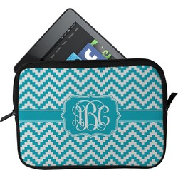 Pixelated Chevron Tablet Case / Sleeve (Personalized)