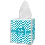 Pixelated Chevron Tissue Box Cover (Personalized)