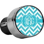 Pixelated Chevron USB Car Charger (Personalized)