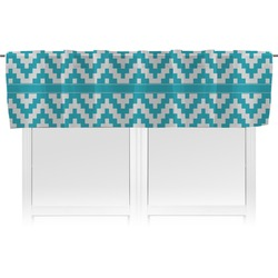 Pixelated Chevron Valance (Personalized)
