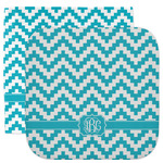 Pixelated Chevron Facecloth / Wash Cloth (Personalized)