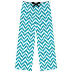Pixelated Chevron Womens Pajama Pants (Personalized)