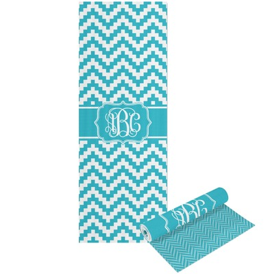 Pixelated Chevron Yoga Mat - Printable Front and Back (Personalized)