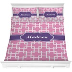 Linked Squares Comforters (Personalized)