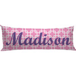 Linked Squares Body Pillow Case (Personalized)