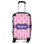 Linked Squares Suitcase (Personalized)