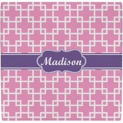 Linked Squares Ceramic Tile Hot Pad (Personalized)