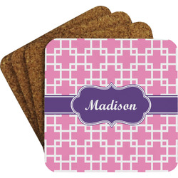 Linked Squares Coaster Set (Personalized)