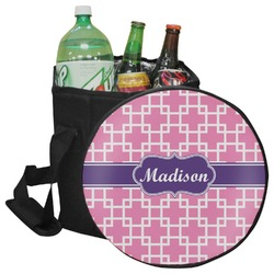 Linked Squares Collapsible Cooler & Seat (Personalized)