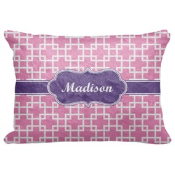 Linked Squares Decorative Baby Pillowcase - 16