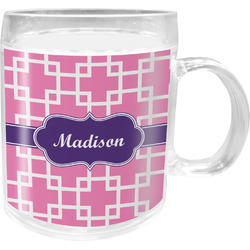 Linked Squares Acrylic Kids Mug (Personalized)