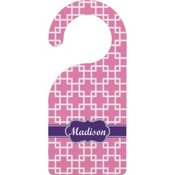Linked Squares Door Hanger (Personalized)