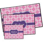 Linked Squares Door Mat (Personalized)