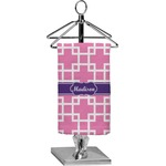 Linked Squares Finger Tip Towel - Full Print (Personalized)