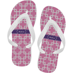 Linked Squares Flip Flops (Personalized)