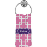 Linked Squares Hand Towel - Full Print (Personalized)