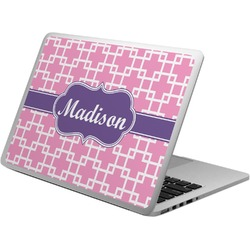 Linked Squares Laptop Skin - Custom Sized (Personalized)