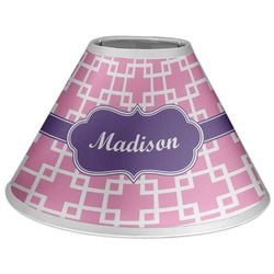 Linked Squares Coolie Lamp Shade (Personalized)