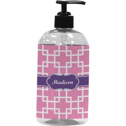 Linked Squares Plastic Soap / Lotion Dispenser (Personalized)
