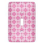 Linked Squares Light Switch Covers (Personalized)