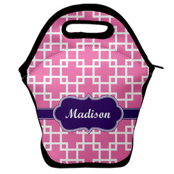 Linked Squares Lunch Bag (Personalized)