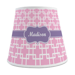 Linked Squares Empire Lamp Shade (Personalized)