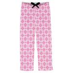 Linked Squares Mens Pajama Pants (Personalized)