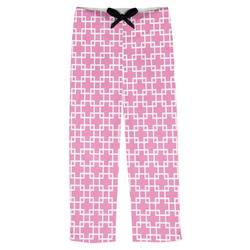 Linked Squares Mens Pajama Pants (Personalized)
