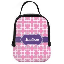 Linked Squares Neoprene Lunch Tote (Personalized)
