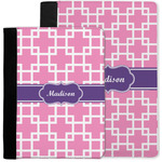 Linked Squares Notebook Padfolio w/ Name or Text