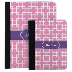Linked Squares Padfolio Clipboard (Personalized)